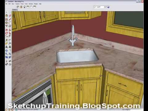 Using Scenes in Sketchup