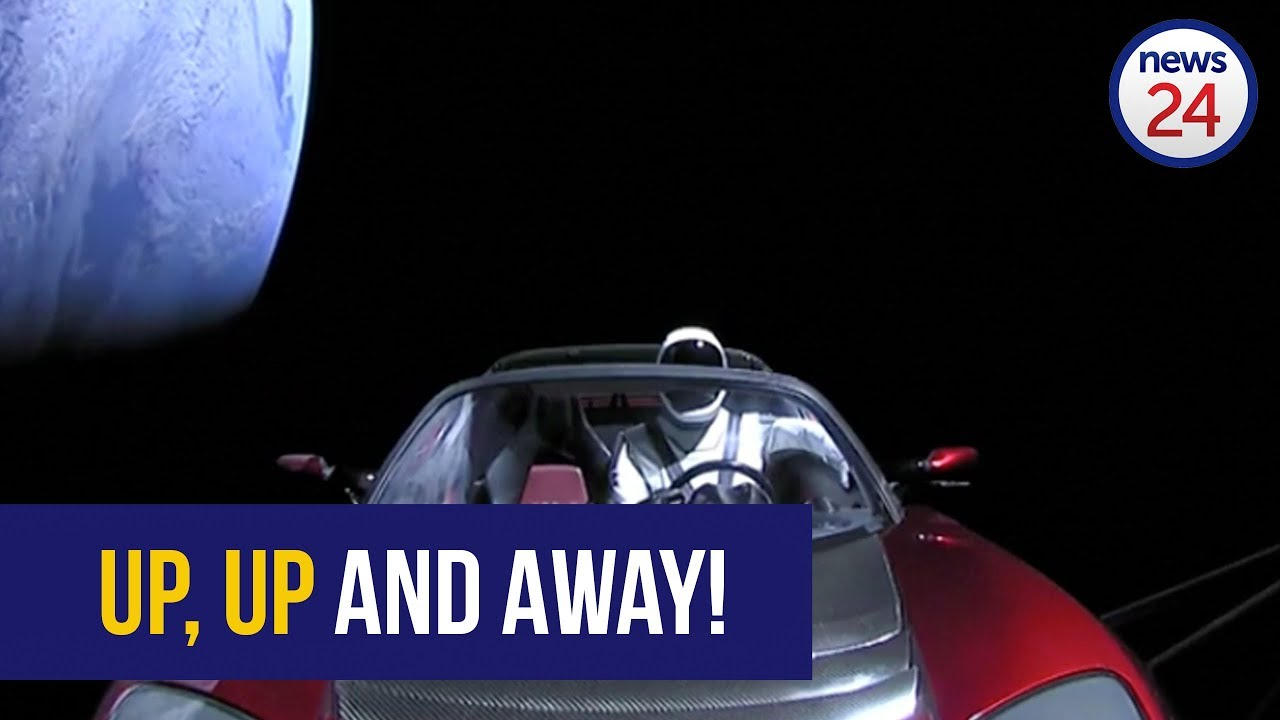 'I'm still trying to absorb this' - Elon Musk after historic SpaceX car launch