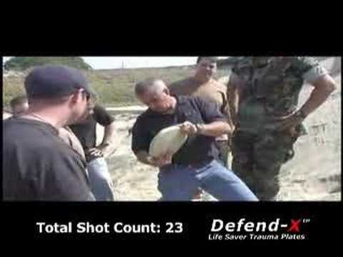 Unbelievable Body Armor Test (Shot 63 times with an M16)