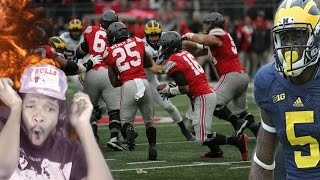 JABRILL PEPPERS YOU LEGEND! OHIO STATE VS MICHIGAN FULL HIGHLIGHTS REACTION!