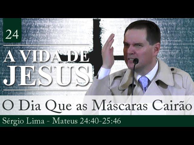 O Dia em Que as Máscaras Cairão - Sérgio Lima