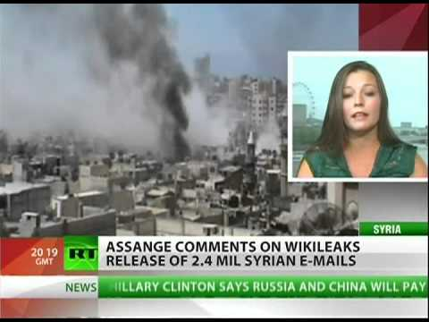 Julian Assange comments on SyriaFiles