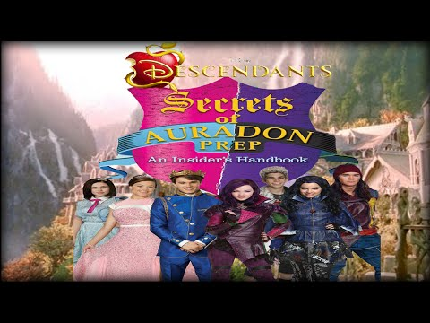 Descendants -  Auradon Travel Guide (New Disney Game)
