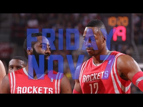 NBA Daily Show: Nov. 7th – The Starters