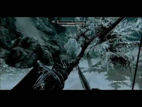 Skyrim Grampy The Mammoth Skyrim The Kuda Bow Grampy