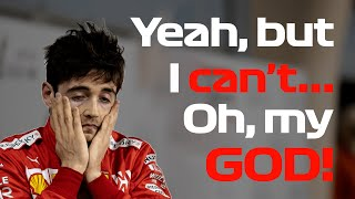 Uncut Leclerc's Team Radio After Engine Problem (w/ Subs) | 2019 Bahrain Grand Prix