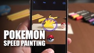 Mad Stuff With Rob - Pokemon Speed Painting | Pikachu | Pokemon Go