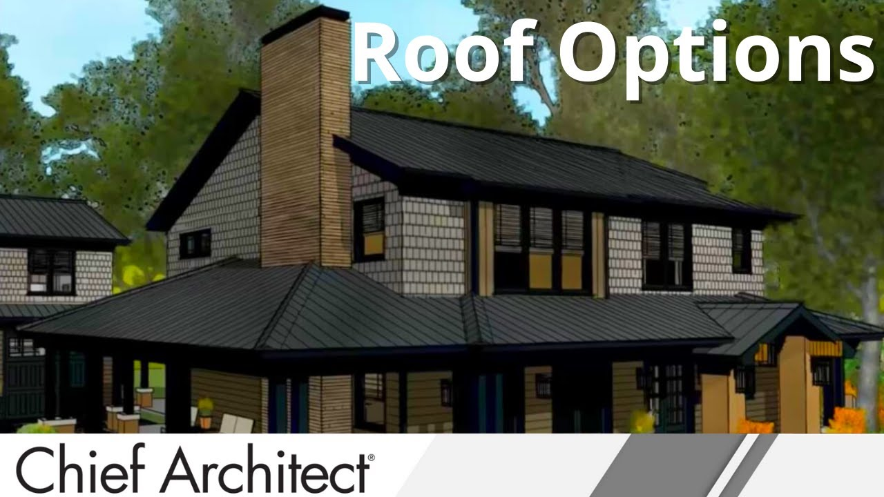 Chief architect roof design tips youtube for What kind of roof do i have