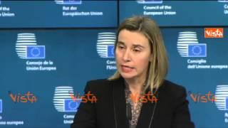 video BRUXELLES MOGHERINI SIRIA RUSSIA E IRAN POSSONO SVOLGERE RUOLO COSTRUTTIVO IN REGIONE 15-12-14