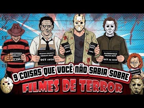 9 coisas que você não sabia sobre FILMES DE TERROR +18
