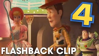"Toy Story 4 ""FLASHBACK"" Clip ft. Bo Peep, Woody, and Buzz"