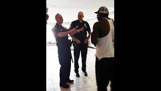 POLICE CALLED ON KALI MUSCLE {GRUNTING IN GYM}
