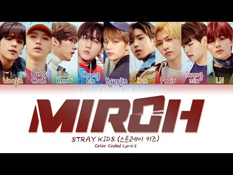 Download  Stray Kids - MIROH Color Coded s Eng/Rom/Han/가사 Gratis, download lagu terbaru