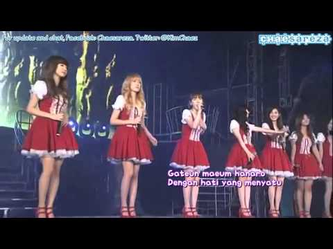 SNSD - Forever [2010 Into The New World Asia Tour] (Chae Indo Subs)