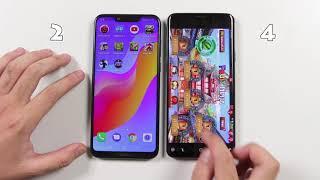 Speedtest Honor Play vs Samsung Galaxy S9 Plus: Kirin 970 (GPU Turbo) vs Exynos 9810