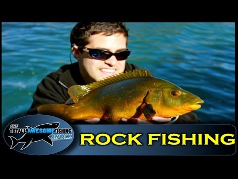 Rock fishing (LRF) -  The Totally Awesome Fishing Show