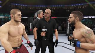 Khabib vs. Chad Mendes(EA Sports UFC 3) - CPU vs. CPU