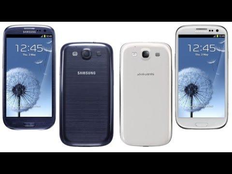 Samsung Galaxy S III GT-I9300 - prezentacja oprogramowanie