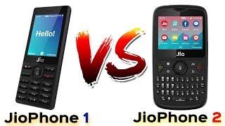 JioPhone 2 vs JioPhone 1   Detailed Comparison , Jio Monsoon Hungama Offer   Data Dock
