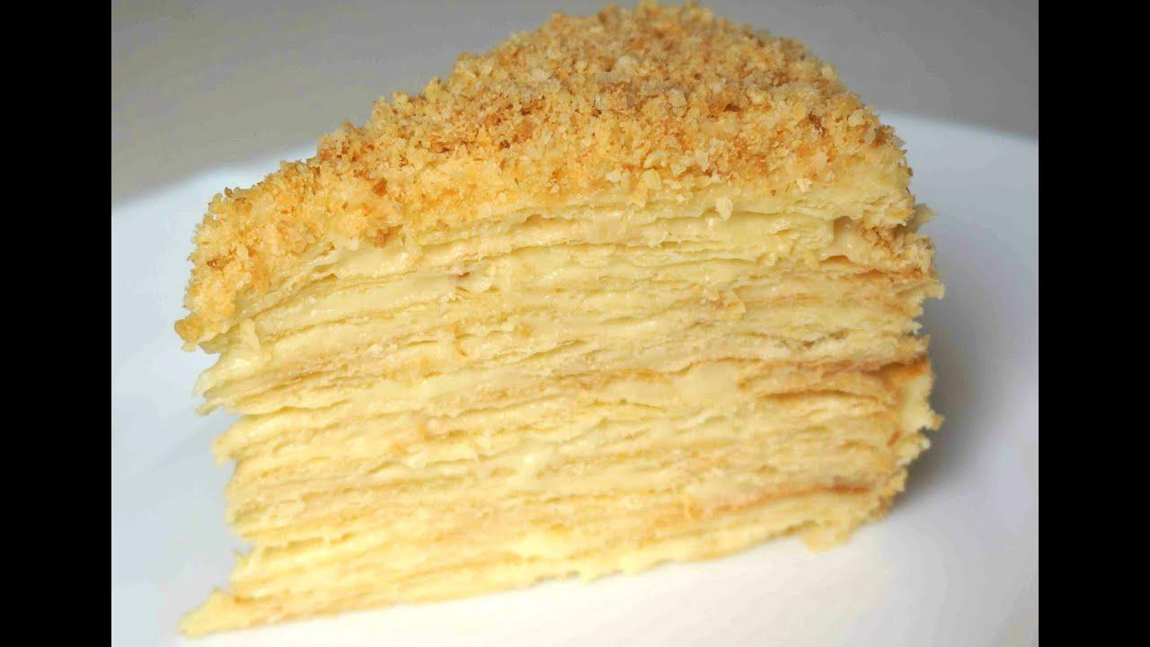 Классический торт наполеон рецепт