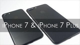 iPhone 7 & iPhone 7 Plus Unboxing & Overview (Black Color)