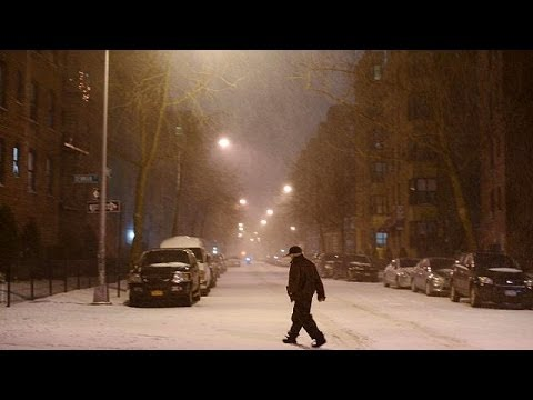 US arctic storm: Northeast gripped by heavy snow, extreme cold