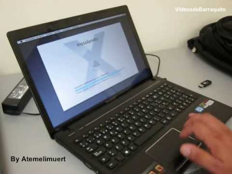 Tutorial Hackintosh (Mac OS X Mountain Lion 10.8.4) con Lenovo G580 i7 en español
