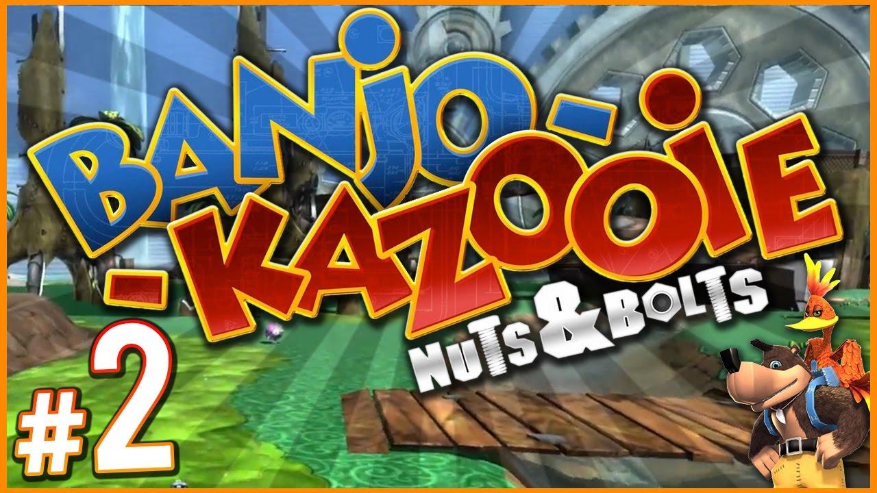 Banjo kazooie nuts and bolts gruntilda