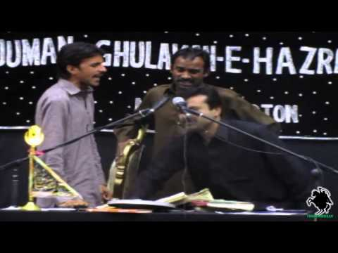 Jeyra Vekheya Tu Khwab Eh - Zakir Qazi Waseem Abbas - Northampton (uk) - 5th May 2013 video