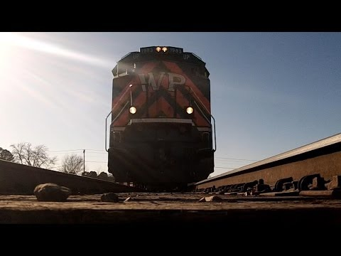 Railfanning Bald Knob AR 1-20-14 with UP 1983 Part 2