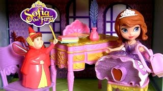 Princess Sofia Royal Classroom with Flora - Disney Clase de Princesa Sofia the First - Sala de Aula