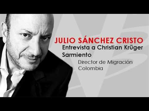 Julio Sánchez Cristo entrevista a Christian Krüger Sarmiento