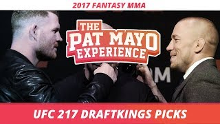 UFC 217 DraftKings Picks & Preview