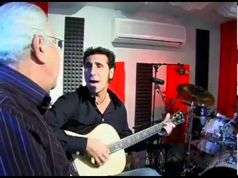 Serj Tankian sing with his father ...