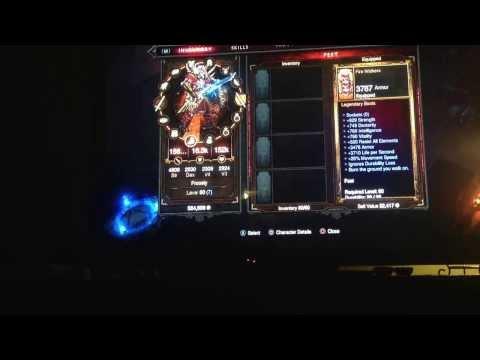 Diablo 3 PS3 Hacked items!!
