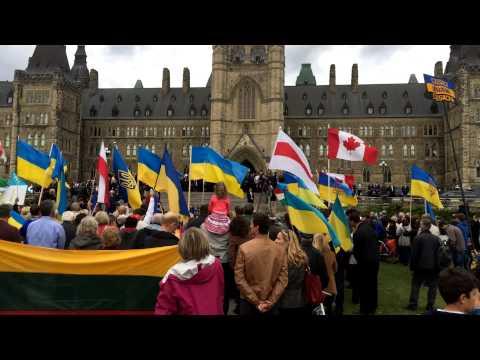 Petro Poroshenko in Canada Петр Порошенко в Канаде 17.09.2014