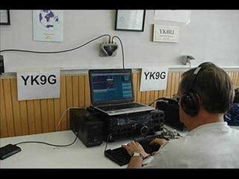 YK9G UK CW DXPEDITIÓN SYRIA 2008