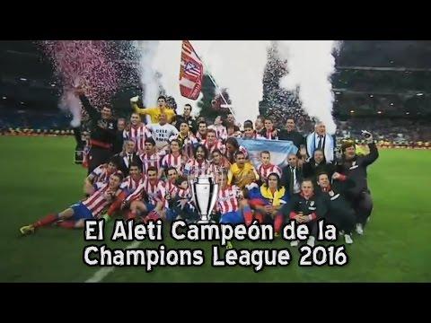 Atlético Madrid campeón de la Champions League 2016