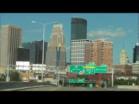 Urban Driving: Downtown Minneapolis via I-394