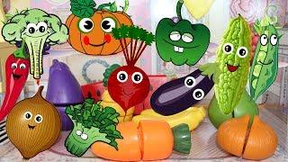 Vegetables Names Compilation Kids Learning(Spelling) English&Chinese 蔬菜大集合(中英文)繁體