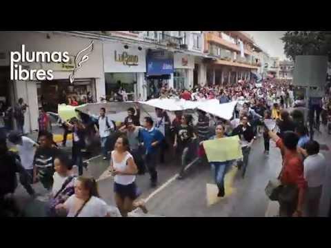 Continúan las manifestaciones en Xalapa por normalistas de Ayotzinapa