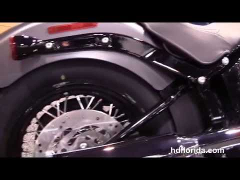 New 2014 Harley Davidson FLS Softail Slim Motorcycle Review Specs