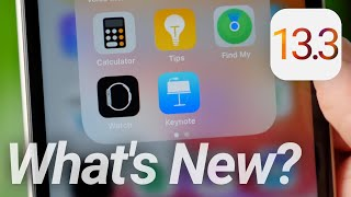 iOS 13.3 Features & Changes! What's New?