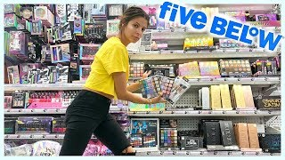 FULL FACE OF 5 BELOW MAKEUP | I HIT THE JACKPOT