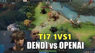 DENDI vs OPENAI BOT 1VS1 TI7 (1080p 60fps)