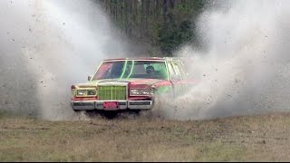 Trying to Kill a Lincoln Town Car.