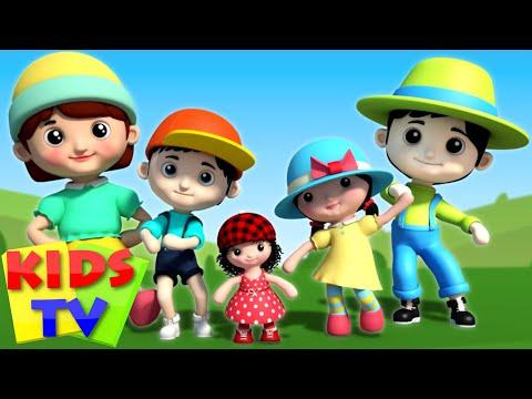 Doll Finger family   3D Finger Family   Nursery Rhymes   Video For Kids