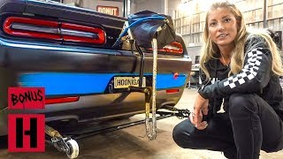 Leah Pritchett's Wheelie Bar Science and Trophy Trunk!
