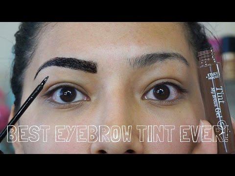 Etude EYEBROW TINT REVIEW On Olive Skin - Alexisjayda