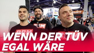 REUPLOAD in 4K - Brodozer by Diesel Brothers or BIGGER is BETTER - BBM goes SEMA in VEGAS TAG 2